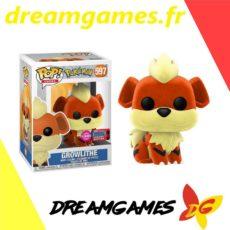 Figurine Pop Pokemon 597 Growlithe Flocked