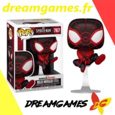 Figurine Pop Spider-Man 767 Miles Morales Bodega Cat Suit