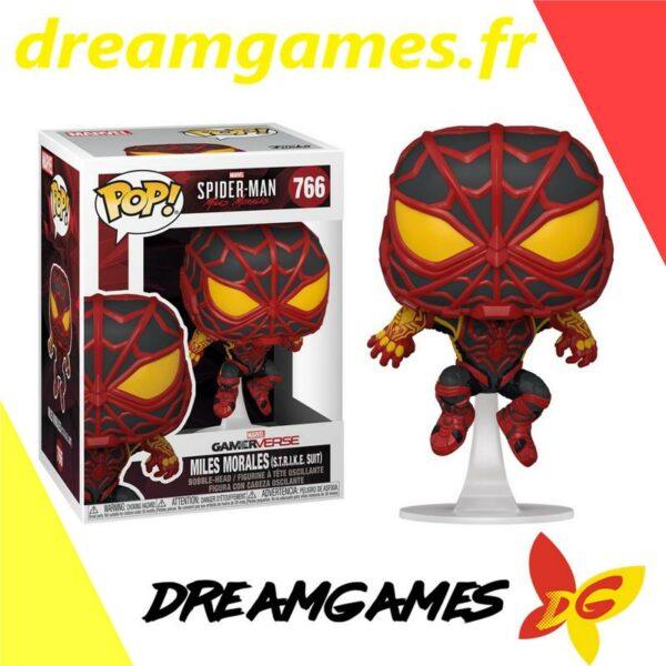 Figurine Pop Spider-Man 766 Miles Morales STRIKE suit