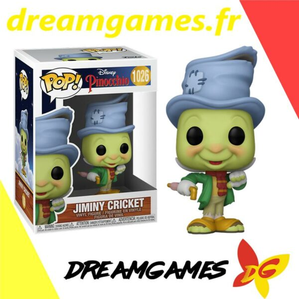 Figurine Pop Pinocchio 1026 Jiminy Cricket