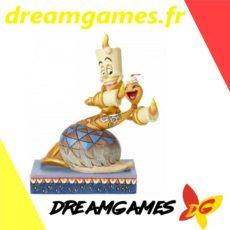 Figurine Disney Traditions Lumière & Plumette