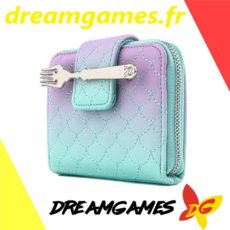 Loungefly Little Mermaid Ombre Scales Zip Around Wallet