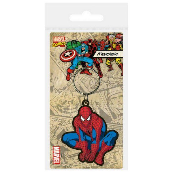 Marvel Spiderman rubber Keychain 1