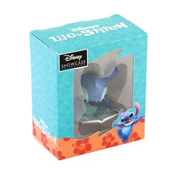 Figurine Disney Showcase Stitch with storybook 1