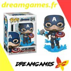 Figurine Pop Avengers Endgame 573 Captain America