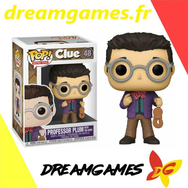 Figurine Pop Clue 48 Professor Plum