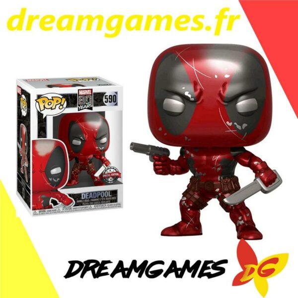 Figurine Pop Deadpool First Appearance MT