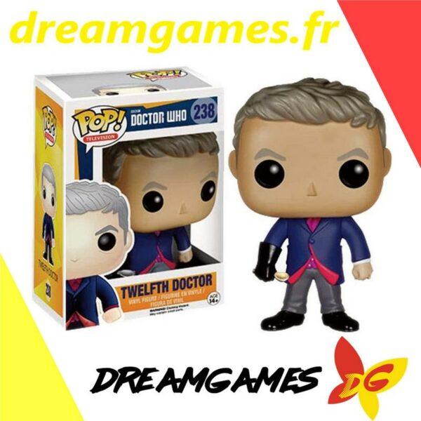 Figurine Pop Doctor Who 238 Twelfth Doctor