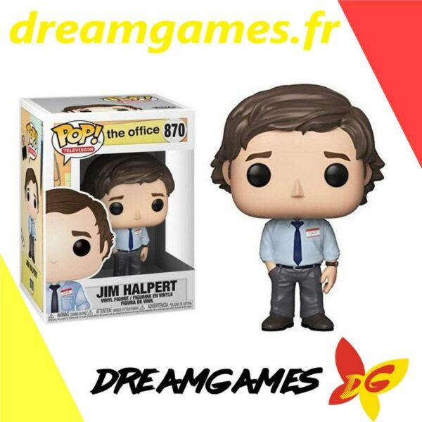 Figurine Pop The Office 870 Jim Halpert