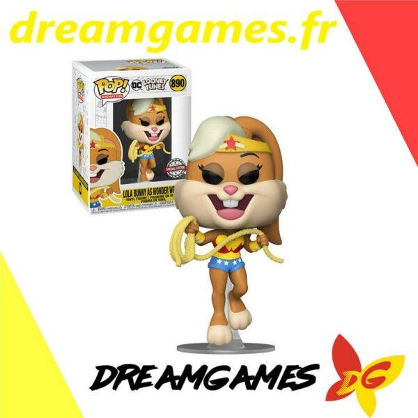Figurine Pop Looney Tunes 890 Lola as Wonder Woman