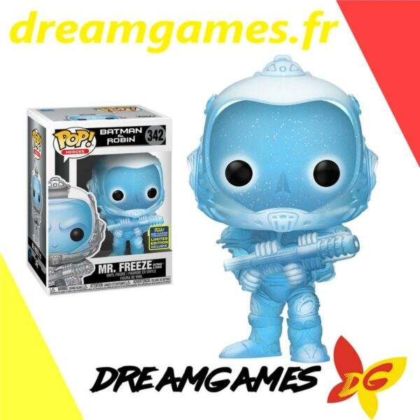 Figurine Pop Batman & Robin 342 Mr Freeze GL