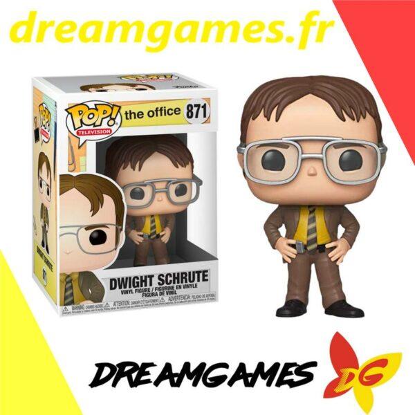 Figurine Pop The Office 871 Dwight Schrute
