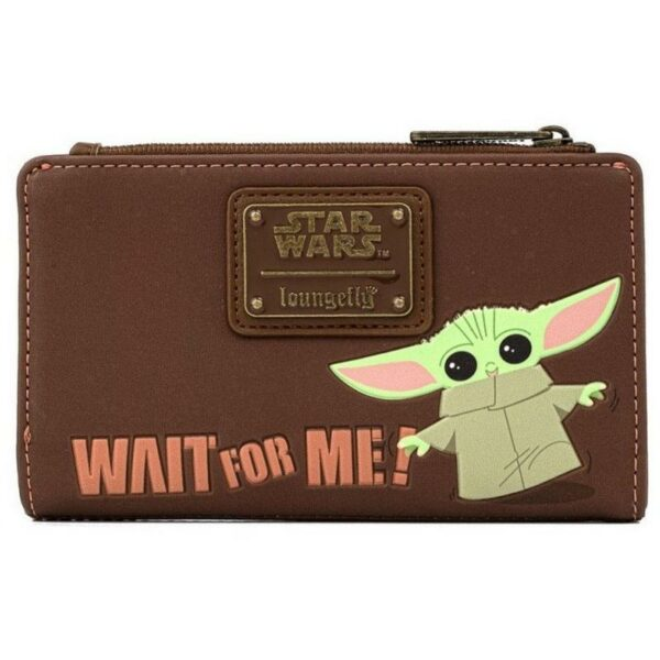 Loungefly Star Wars Mandalorian Child Wait For Me Wallet 1