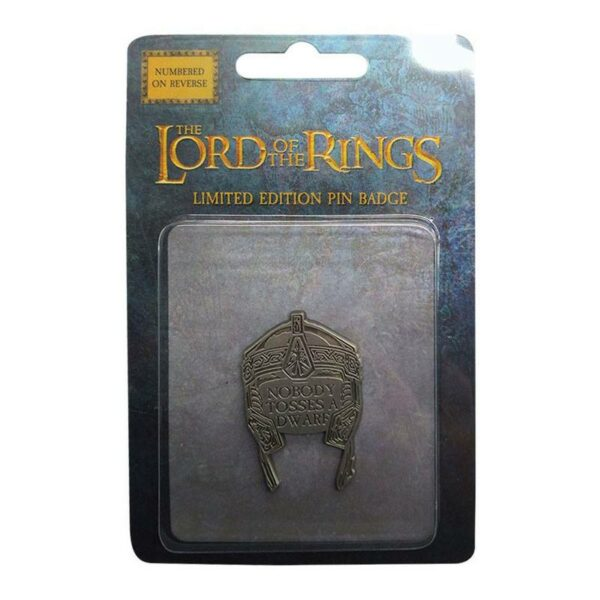 Pin Badge The Lord of the Rings Gimli's helmet 1