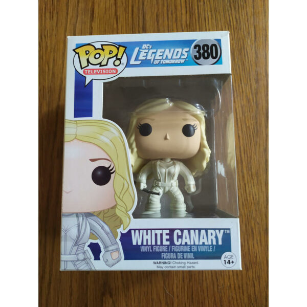 Figurine Pop DC's Legends of Tomorrow 380 White Canary (Not mint) 1