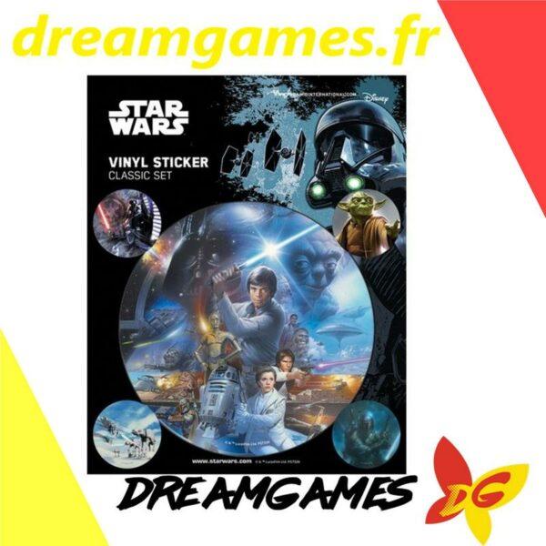 Star Wars Classics Vinyl Sticker