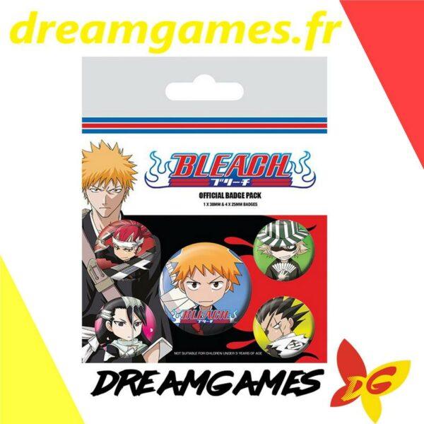 Bleach Pack de 5 badges