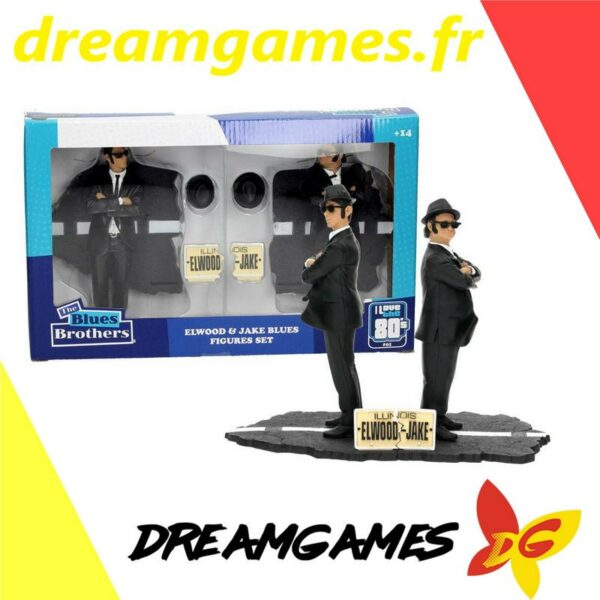 The Blues Brothers Figures Set