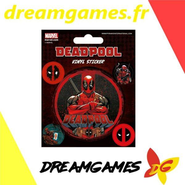 Deadpool vinyl sticker