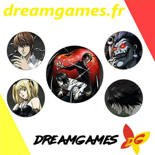 Death Note Official Badge pack