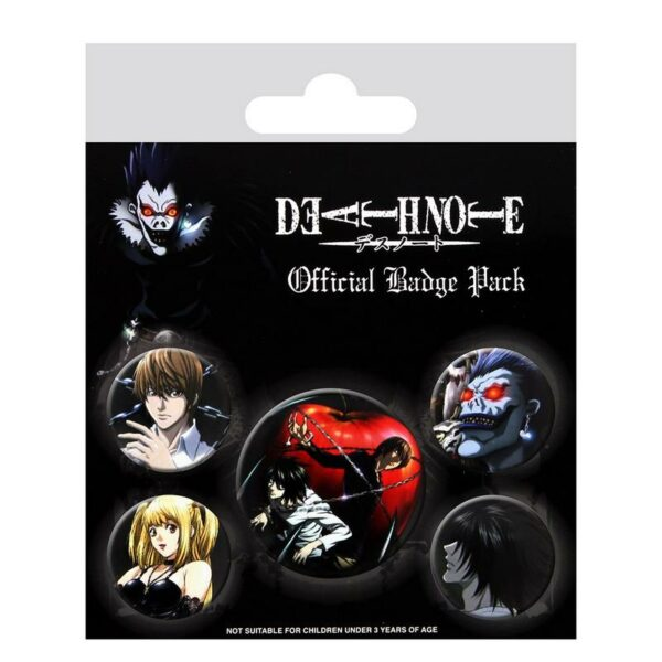 Death Note Official Badge pack 1