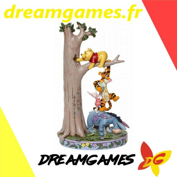 Figurine Disney Traditions Pooh, Eeyore, Tigger and Piglet