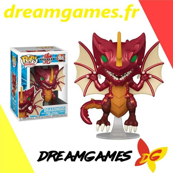 Figurine Pop Bakugan 966 Dragonoid