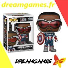 Figurine Pop Falcon and the Winter Soldier 814 Captain America