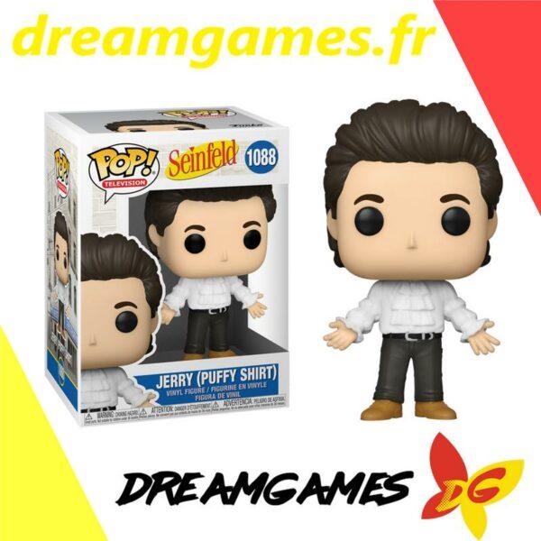 Figurine Pop Seinfeld 1088 Jerry in puffy shirt