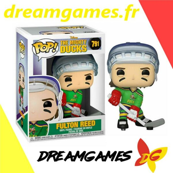 Figurine Pop Mighty Ducks 791 Fulton Reed
