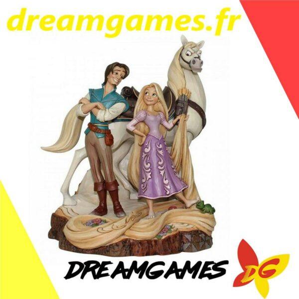 Figurine Disney Traditions Rapunzel, Flynn and Max
