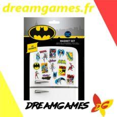 Batman Retro Magnet Set