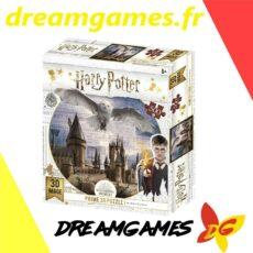 Harry Potter Prime 3D puzzle Hogwarts and Hedwig 500 pièces