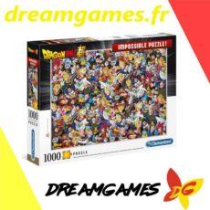 Dragon Ball Super Impossible Puzzle 1000 pièces