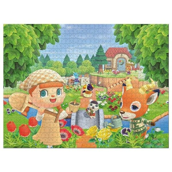 Puzzle 1000 pièces Animal Crossing New Horizons 1
