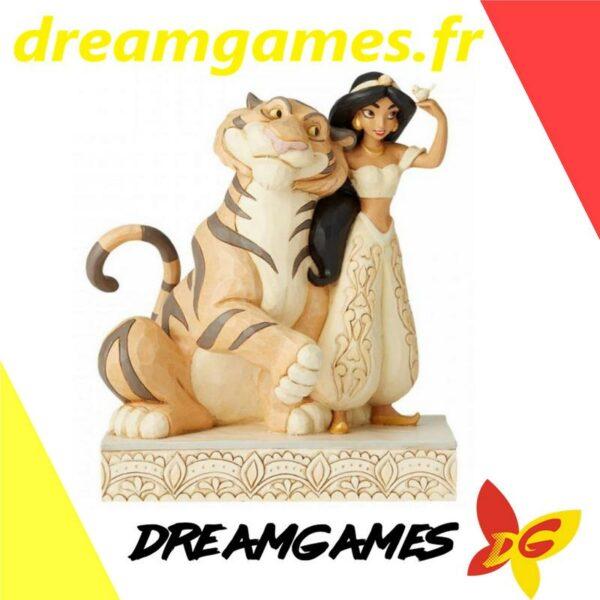 Figurine Disney Traditions Jasmine White Woodland