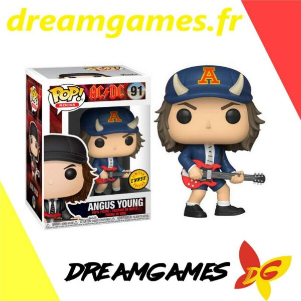 Figurine Pop ACDC 91 Angus Young Chase