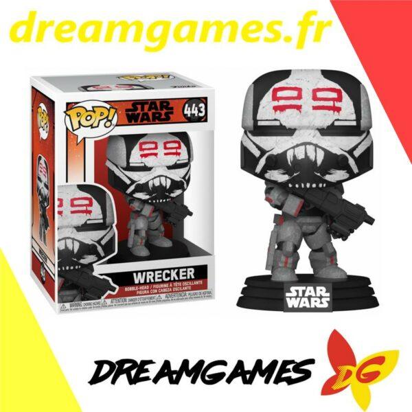 Figurine Pop Star Wars Bad Batch 443 Wrecker
