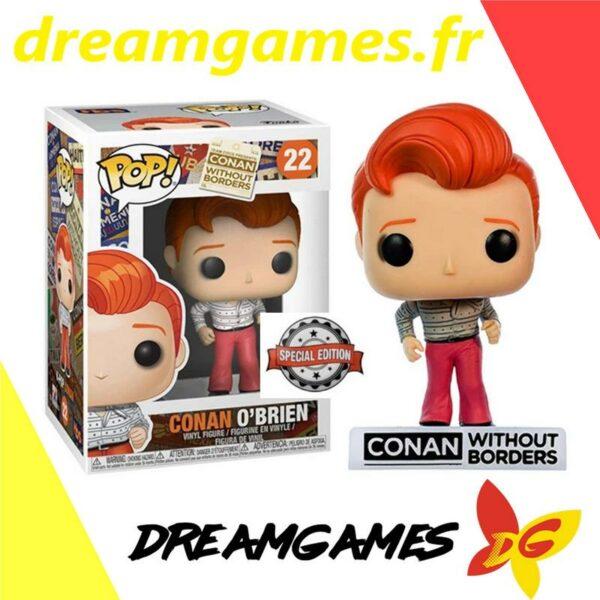 Figurine Pop Conan without borders 22 Conan O'Brien