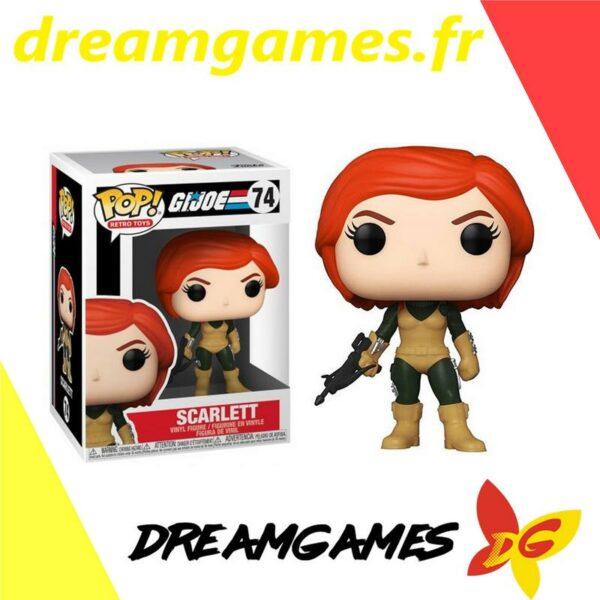 Figurine Pop G.I. Joe 74 Scarlett