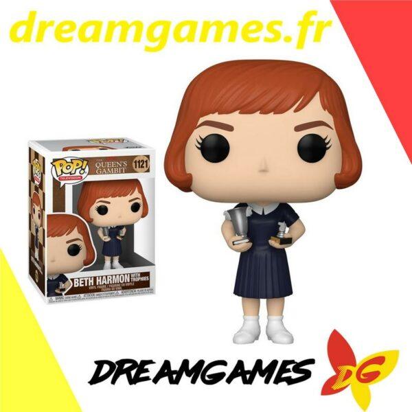 Figurine Pop Queen's Gambit 1121 Beth with trophies