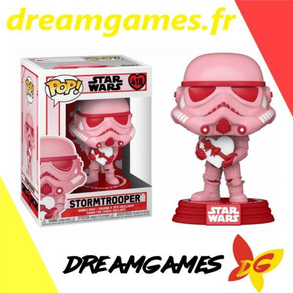 Figurine Pop Star Wars 418 Stormtrooper with heart