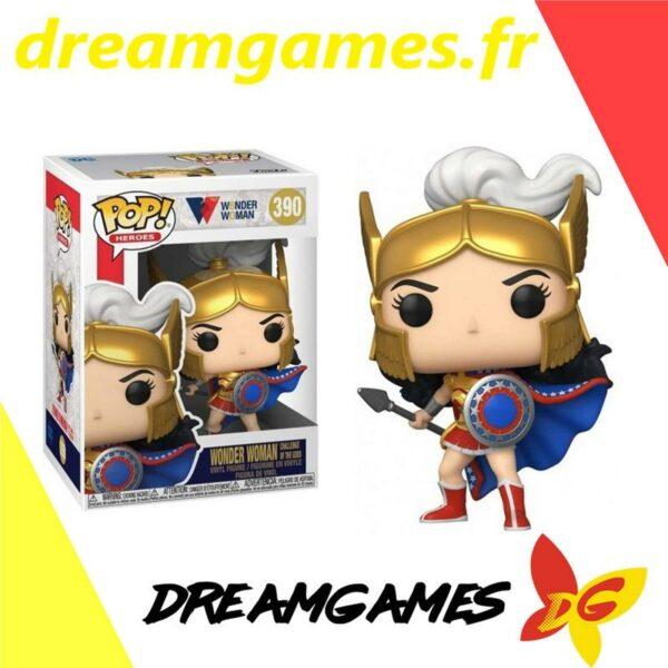 Figurine Pop Wonder Woman 390 Challenge of the Gods