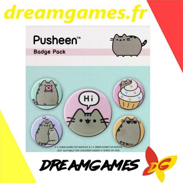 Pusheen the cat Badge pack