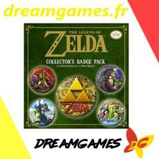 Zelda Collector's badge pack