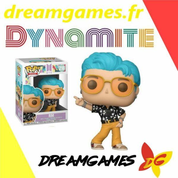 Figurine Pop BTS 218 Dynamite RM