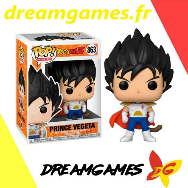 Figurine Pop Dragon Ball Z 863 Prince Vegeta